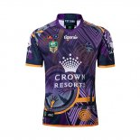 Melbourne Storm Rugby Shirt 2018-19 Commemorative