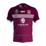 Queensland Maroon Rugby Shirt 2019-2020 Home