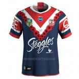 Sydney Roosters Rugby Shirt 2018-19 Commemorative