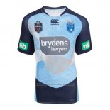 NSW Blues Rugby Shirt 2017-2018 Training