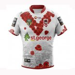St George Illawarra Dragons Rugby Shirt 2018-19 Commemorative