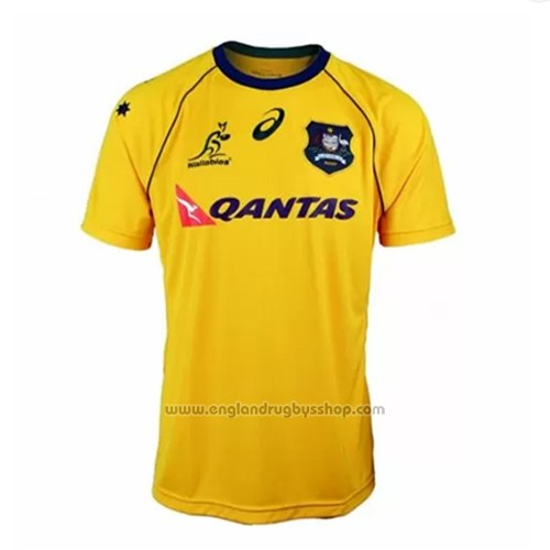 Australia Wallabies Rugby Shirt 2018 Home