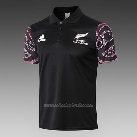 New Zealand All Blacks Maori Rugby Shirt 2019 Black